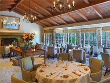 Dining room at Marinus, Carmel Valley, CA