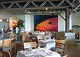 Dining room at Stillwater Bar & Grill, Pebble Beach, CA