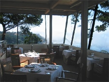 Dining room at Pacific's Edge, Carmel, CA