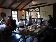 Dining Room at Big Sur Bakery & Restaurant, Big Sur, CA