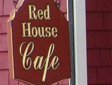 Dining room at Red House Cafe, Pacific Grove, CA
