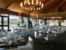 Dining room at Clubhouse Restaurant, Carmel, CA