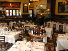 Dining Room at Mon Ami Gabi, Bethesda, MD
