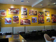 Dining room at Spice Xing, Rockville, MD