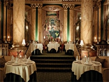 Dining room at Chez Philippe, Memphis, TN