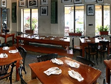 Dining room at Taverna Opa, Hollywood, FL