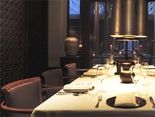 Dining room at The Restaurant at The Setai, Miami Beach, FL