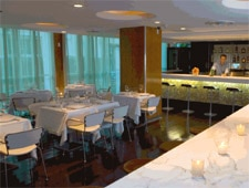Dining room at Ola, Miami Beach, FL