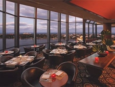 Dining room at Top of the Point, West Palm Beach, FL