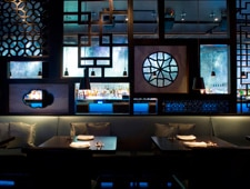 Dining Room at Hakkasan, Miami Beach, FL