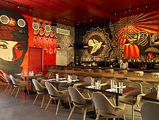 Dining room at Wynwood Kitchen & Bar, Miami, FL