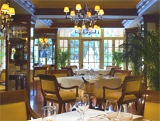 Dining room at Palme d'Or, Coral Gables, FL