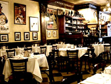 Dining room at THIS RESTAURANT IS CLOSED Les Halles, Coral Gables, FL