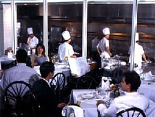 Dining room at Tony Chan's Water Club, Miami, FL