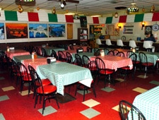 Dining room at Laurenzo's Italian Center, North Miami Beach, FL