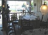 Dining room at Bistro a Champlain, Ste Marguerite du Lac Masson, canada