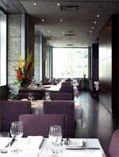 Dining room at DECCA77, Montréal, canada