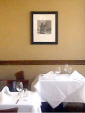 Dining Room at Vincent A Restaurant, Minneapolis, MN