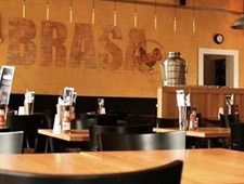 Dining room at Brasa Premium Rotisserie, Minneapolis, MN