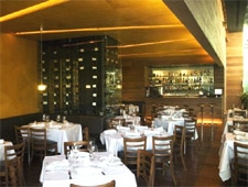 Dining room at Bellaria, Mexico City, mexico