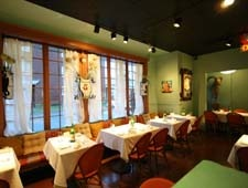 Dining room at Stove, The Restaurant, Portsmouth, VA