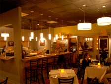 Dining room at Eurasia Cafe & Wine Bar, Virginia Beach, VA
