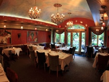 Dining room at Cafe Matisse, Rutherford, NJ