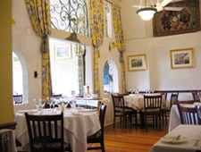 Dining room at Latour French-American Restaurant, Ridgewood, NJ
