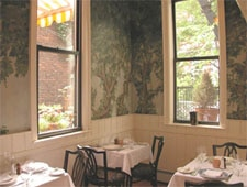 Dining room at Amanda's, Hoboken, NJ