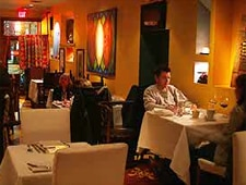 Dining room at Cucharamama, Hoboken, NJ