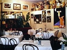Dining room at Upperline, New Orleans, LA
