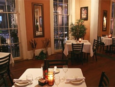 Dining room at La Bayou Restaurant, New Orleans, LA