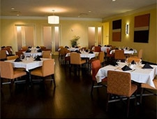 Dining room at The Landing Restaurant, Kenner, LA