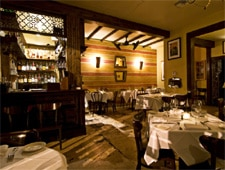 Dining room at Martinique Bistro, New Orleans, LA