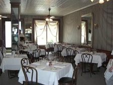 Dining room at Gautreau's, New Orleans, LA