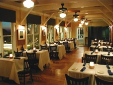 Dining room at Bud & Alley's, Santa Rosa Beach, FL