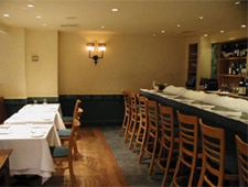 Dining room at Esca, New York, NY