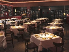 Dining room at Strip House, New York, NY