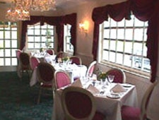 Dining room at Whispers Restaurant, Spring Lake, NJ
