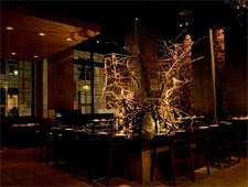Dining room at En Japanese Brasserie, New York, NY
