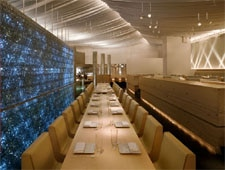 Dining room at Morimoto, New York, NY