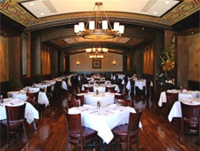 Dining room at Wolfgang's Steakhouse TriBeCa, New York, NY