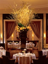 Dining room at The Carlyle Restaurant, New York, NY