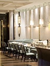 Dining room at Maze by Gordon Ramsay at The London , New York, NY
