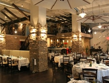 Dining room at Ammos Estiatorio, New York, NY