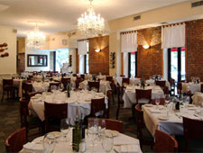 Dining room at Puttanesca, New York, NY