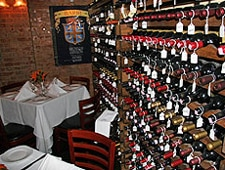 Dining room at Bistecca Fiorentina, New York, NY