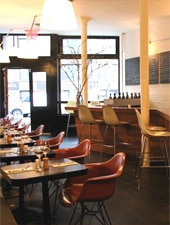 Dining room at Zampa, New York, NY