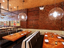 Dining room at Macondo, New York, NY