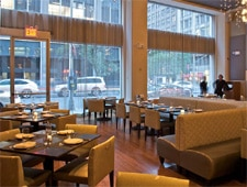 Dining room at Pranna, New York, NY